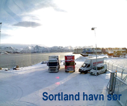 Sort havn s
