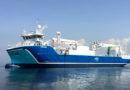 Ny fôrbåt på gass