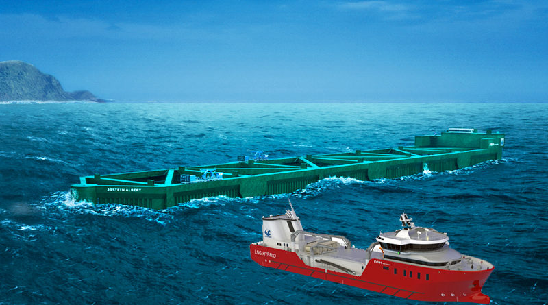 Bygger havfarm og båt