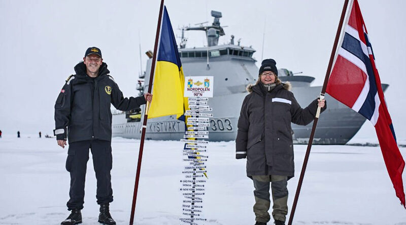 Kystvakta på Nordpolen