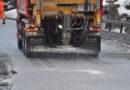Mindre salt på veiene