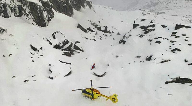 Overlevde snøskred