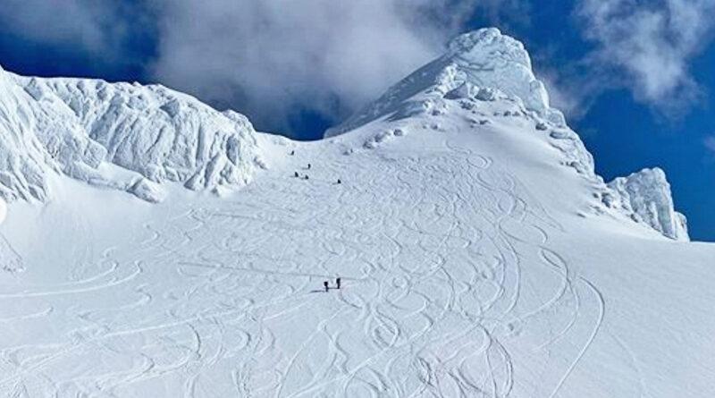 Berget seg i snøskred