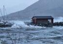 Stormen traff Sortland