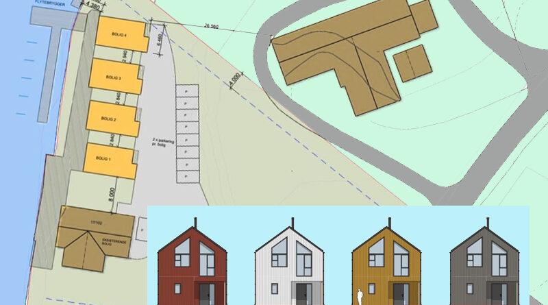 Bygger hus i Bø