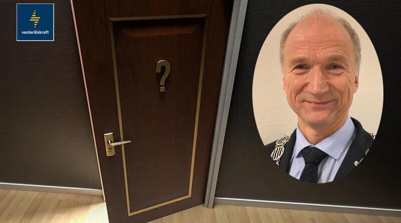 Ordfører stenger døra